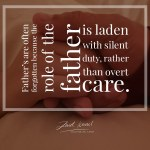 Read more about the article Father : A silent duty