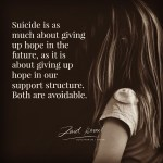 Read more about the article Suicide is avoidable