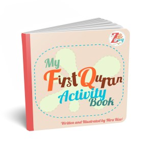 My First Quran Activity Board Book | Hands on activity book for muslim kids
