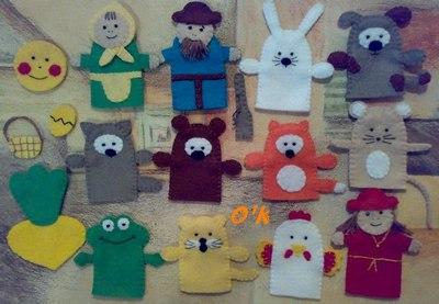 Мастер-класс по пошиву перчаточных кукол Модные платья 31