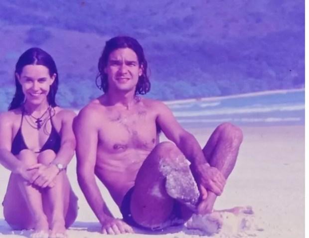 Луселия Сантос плаж
