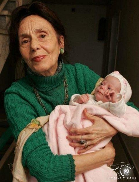 най-старата майка в света