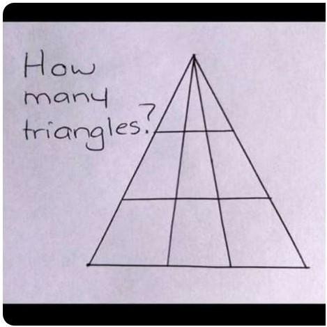 колко триъгълника