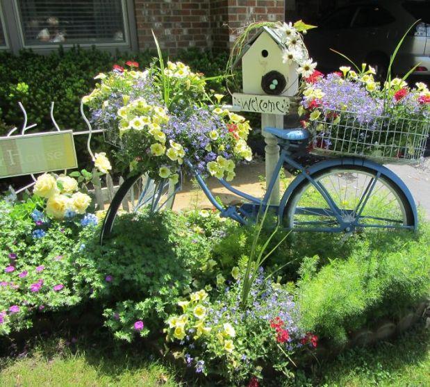 оригинален градински декор