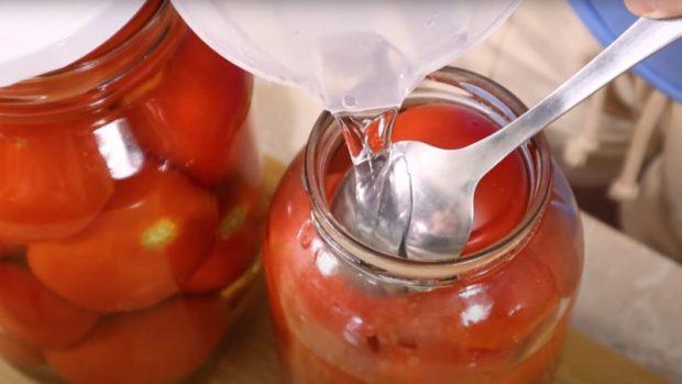 туршия домати