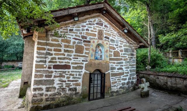 Шумски манастир фасада