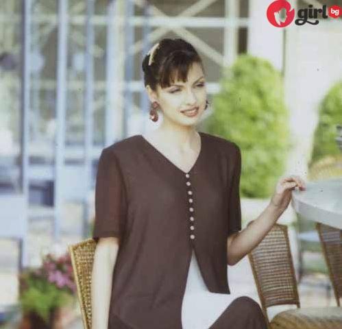 Жени Калканджиева млада