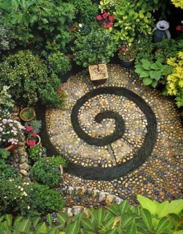 площадка от камъчета