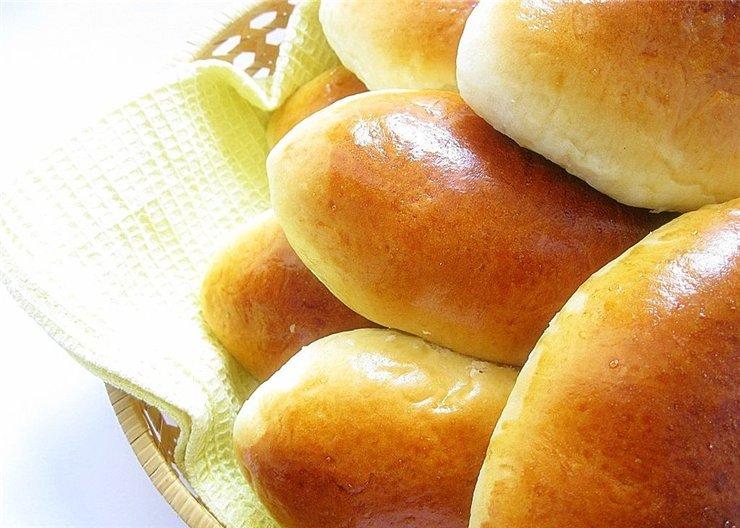 хлебчета от бързо тесто с мая