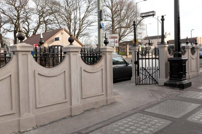 порта с ограда