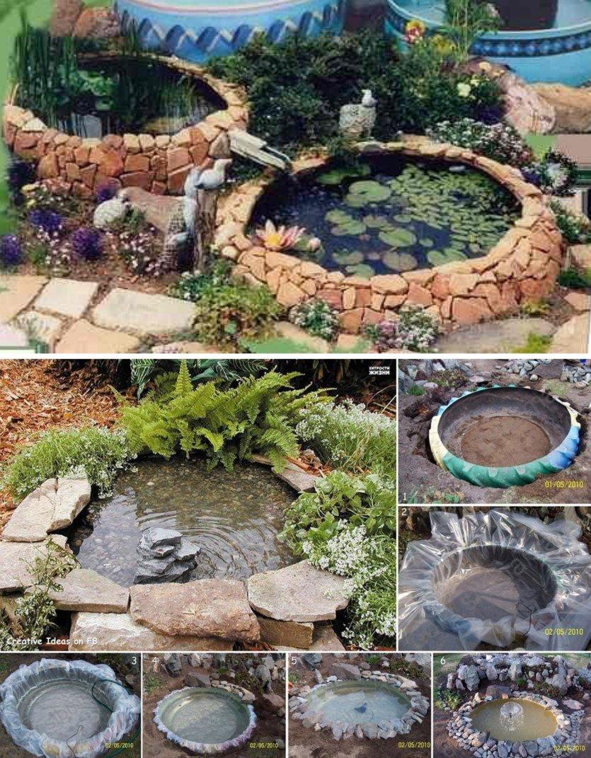 езерце от стари <a href=