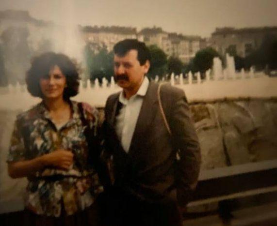 проф.Кантарджиев с жена си