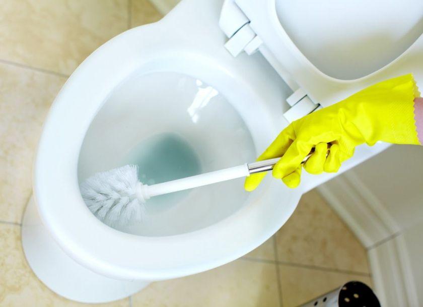 блестяща тоалетна