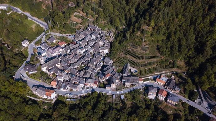 алпийско градче