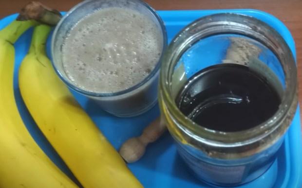 сироп против кашлица с банани