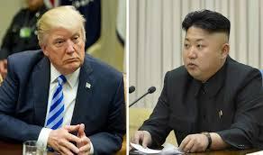 ترمب وكيم الأزمة النووية