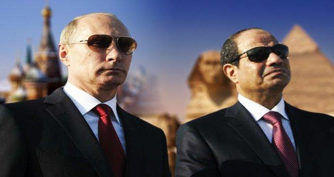 الرئيس الروسي في مصر