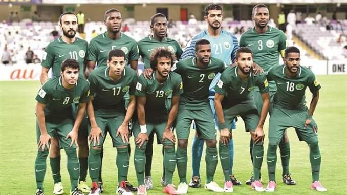 المنتخب السعودي 2018