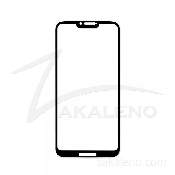 Стъклен протектор за Motorola Moto G7 Power (черна рамка с