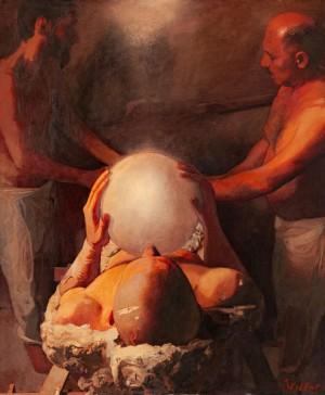 Сидоренко В. 'Муміфікація', 2005, п.о