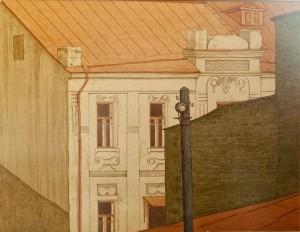 Григоров В. 'Моє місто', пап.акв