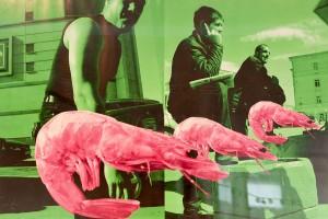 Братков С. Із серії 'Kiss my Google', 2013, фото-колаж, цифровий друк