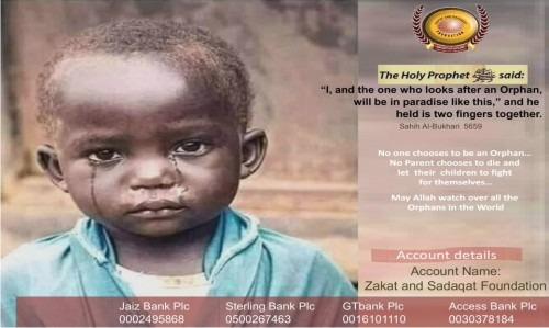Support Widows & Orphans