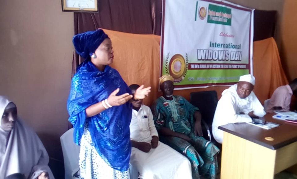 ZSF Osun State celebrate International Widows Day