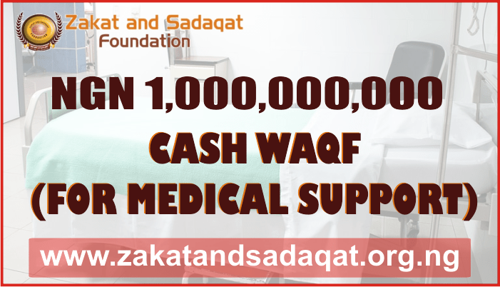 Cash Waqf for Medical Support