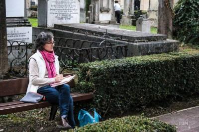 Dibupote en el Cementerio