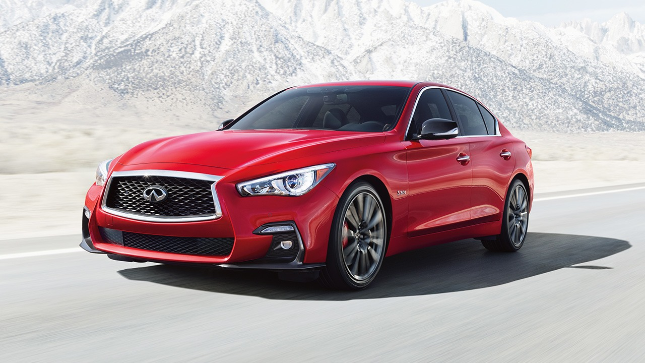 2018 Infiniti Q50 Red Sport 400 HP Full