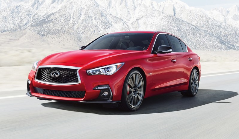 2018 infiniti q50 red sport 400 hp zak auto leasing. Black Bedroom Furniture Sets. Home Design Ideas