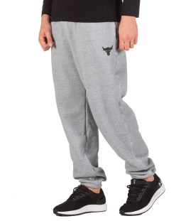 UNDER ARMOUR PROJECT ROCK WARMUP BOTTOM PANT 1346068-011 Γκρί