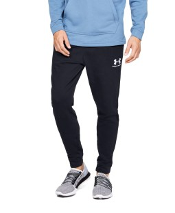 UNDER ARMOUR SPORTSTYLE TERRY JOGGER 1329289-001 Μαύρο