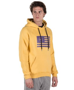 GSA MEN SUPERCOTTON HOODIE COLOURS OF THE GEAR 17-18135-PURPLE Μωβ