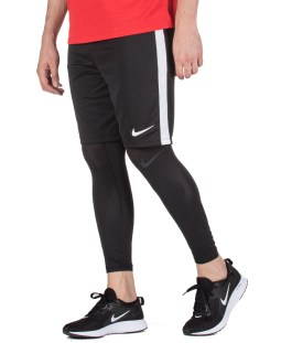 NIKE M NP DRY TIGHT 3QT BBALL AT3383-010 Μαύρο