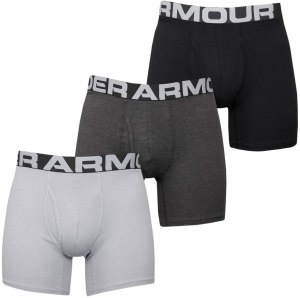 UNDER ARMOUR CHARGED COTTON 6IN 3PACK 1363617-012 Πολύχρωμο