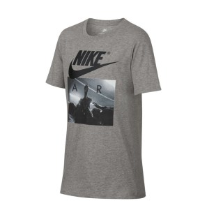 NIKE B NSW TEE AIR HUDDLE 923649-063 Γκρί
