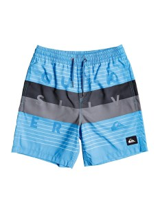 QUIKSILVER WORD BLOCK VOLLEY YOUTH 15 EQBJV03267-BMM6 Σιελ