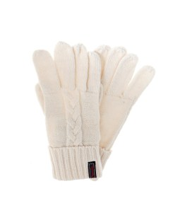 SUPERDRY LANNAH CABLE GLOVES W9300005A-P63 Λευκό