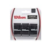 WILSON ULTRA WRAP OVERGRIP BK WRZ403000 Μαύρο