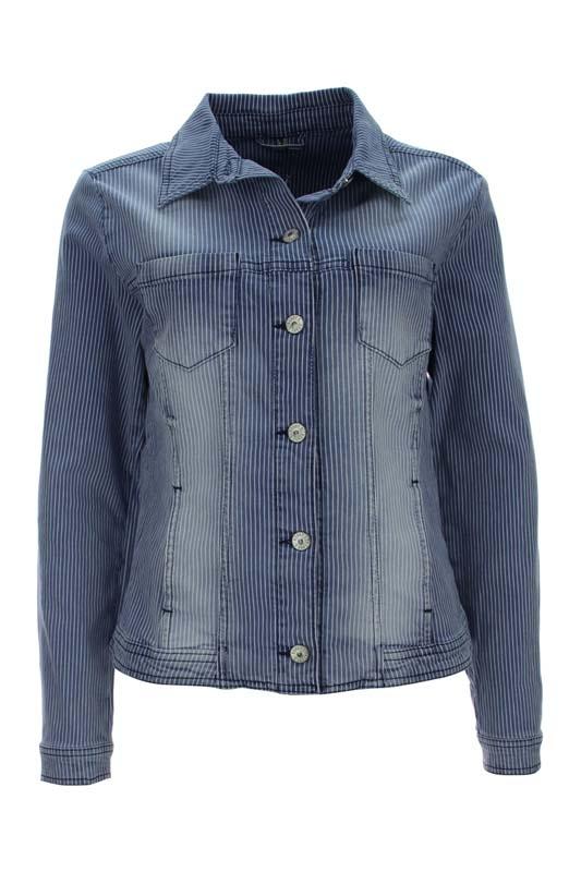 Dámská džínová bunda proužek Kenny S.