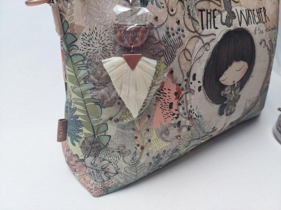 anekke taška - kabelka Jungle velká znak