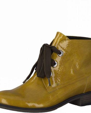 marco tozzi okrové boty