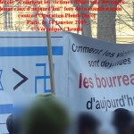 Banderole victimes d'hier 10 janvier 2009 C