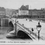 Lieu:Compiegne - Compiegne - Pont - cot頧are - Description