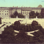 Header, Universität Berlin 1900