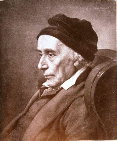 David Friedländer (1750-1834). Portrait de Julius Hübner, 1834.