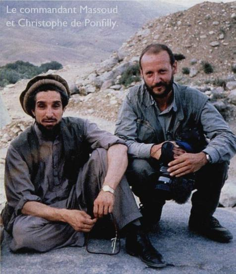 Commandant Massoud et Christophe de Ponfilly