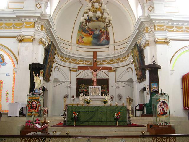 Eglise de l'Immaculée Conception à Pondichéry